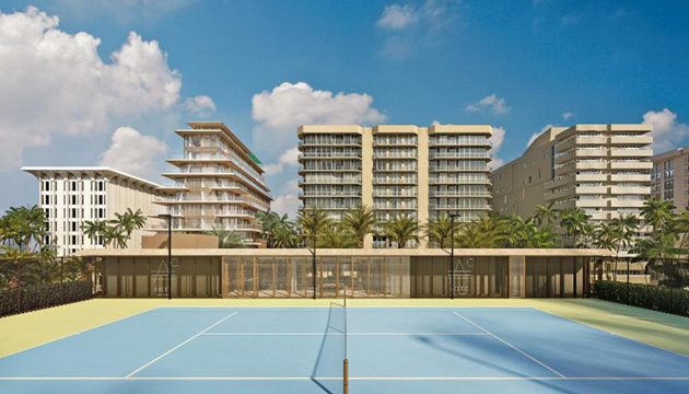 Practice Tennis Like Roger Federer At These Haute Developments